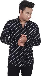 classic denim Printed Casual Shirts for Mens