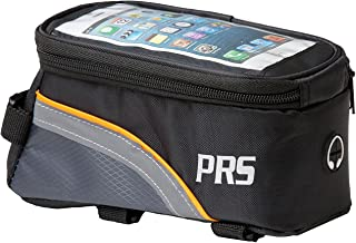 PRS Bike Frame Bag With Shockproof and Water Resistant Phone Pouch and Headphone Port For iPhone 6/7/8 – Touch Screen Capable