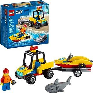 کیت ساختمانی LEGO City Beach Rescue ATV 60286؛ اسباب بازی جالب و جالب بچه ها ، جدید 2021 (79 قطعه)