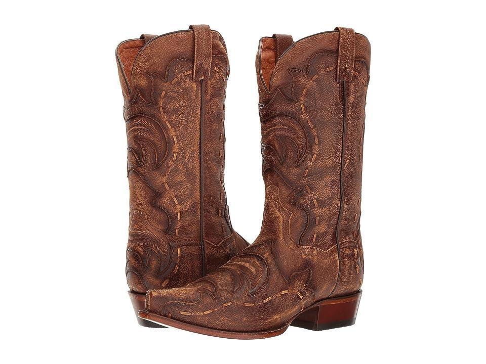 Dan Post Hensley (Tan/Brown) Cowboy Boots