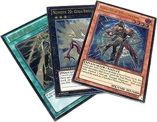 YuGiOh Zexal 2013 Collectible Tin Set of all 3 Ultimate Rare Single Cards [Gagaga Magician, Giga-Brilliant & Gagagabolt]