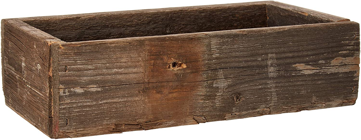 Old Farmhouse Barnwood Decorative Rustic Display Box made from 20  Authentic Reclaimed Wood
