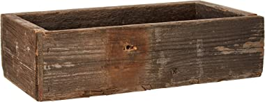 Barnwood Decor Of OKC  Old Farmhouse Barnwood Decorative Rustic Display Box made from 100% Authentic Reclaimed Wood
