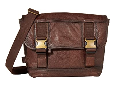 FRYE AND CO. Cody Messenger (Dark Brown) Messenger Bags