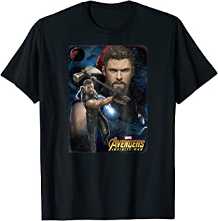 Marvel Infinity War Thor Galaxy Protector Graphic T-Shirt