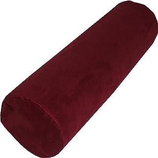 Almohada cervical de espuma viscoelástica, tu compañero de viaje, ya sea en el coche, cama, sofá o avión, cojín cervical, cojín cervical, cojín cervical, cojín cervical (rojo)