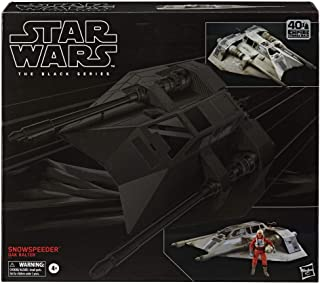 Star Wars The Black Series Snowspeeder Vehicle with Dak Ralter Figure 6-Inch-Scale Star Wars: The Empire Strikes Back Coll...