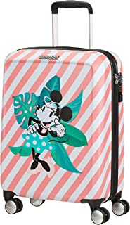 American Tourister Funlight Disney Equipaje de Mano, 55 cm, 36 Liters, Multicolor (Minnie Miami Holiday)