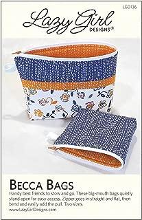 Lazy Girl Designs Lgd136 Becca Bags Pattern