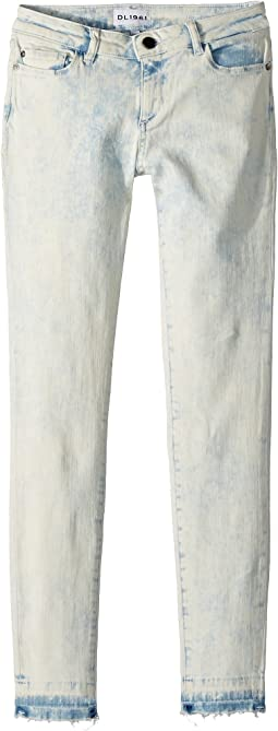DL1961 Kids - Chloe Light Wash Skinny Jeans in Surfside (Big Kids)