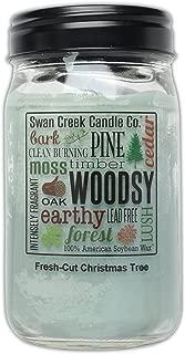 Swan Creek Candle - Fresh Cut Christmas Tree 24 oz Jar