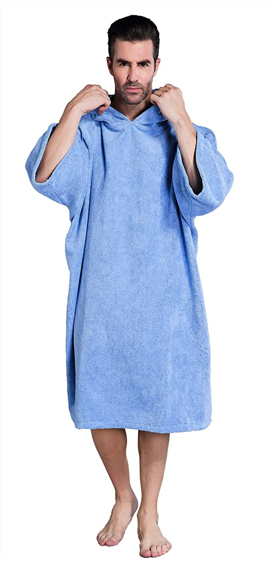 Winthome Changing Towel Poncho Robe with Hood | One Size Fits All