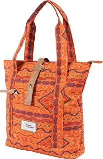 National Geographic Canvas & Beach Tote Bag, Orange
