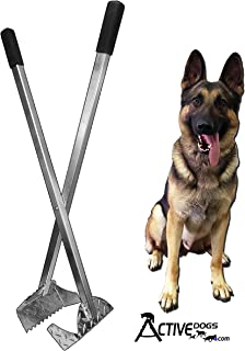 Activedogs Best Ever Dog Poop Scooper - All Aluminum Design Heavy Duty & Durable Waste Removal Shovel Scoop Tool or Bucket - Built to Last - Made in The USA