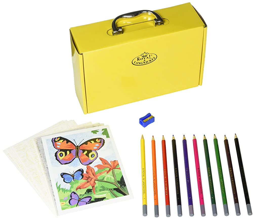 ROYAL BRUSH Color Pencil by Number Kit