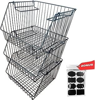 chicken wire baskets from cb2 for storage