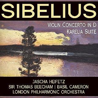Sibelius: Violin Concerto in D; Karelia Suite