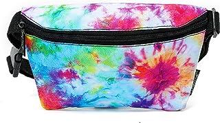 FYDELITY-Fanny Pack Women Men Crossbody Belt Bag Waist Packs FUN Tie Dye Splash