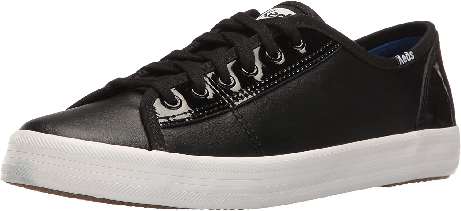 Keds Womens Kickstart Retro Court Patent Fashion Sneaker