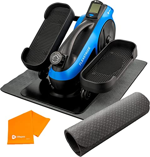 discount LifePro Under Desk Elliptical Trainer for Home & Office - Calf Leg Foot Pedal Exerciser - sale Seated Compact Elliptical Bike Machine - Core Fitness wholesale Low Impact Exercise Equipment w/Adjustable Resistance sale