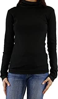Maks Ladies Supersoft Long Sleeve Top Turtleneck