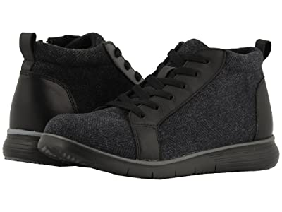 Propet TravelFit Bootie (Black Tweed) Women