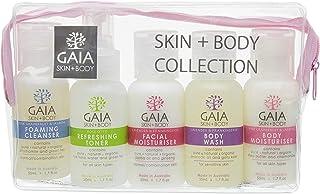 GAIA Skin Naturals Skin + Body Skin Care Collection 5 Piece Set, 250 Milliliter