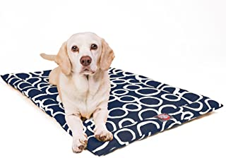 """24"""" Fusion Navy Crate Dog Bed Mat By Majestic Pet Products"""
