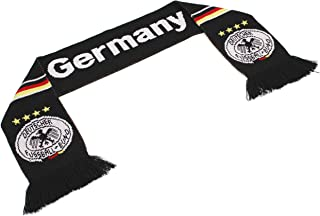 "Official Nations Europe Scarf Collection"" Double Weave Head Scarf Men Women, Euro Soccer National Symbols"