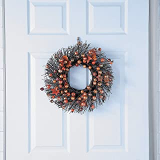 Rustic Fall Berry Wreath (16 inch Diameter) Fall Home Decor