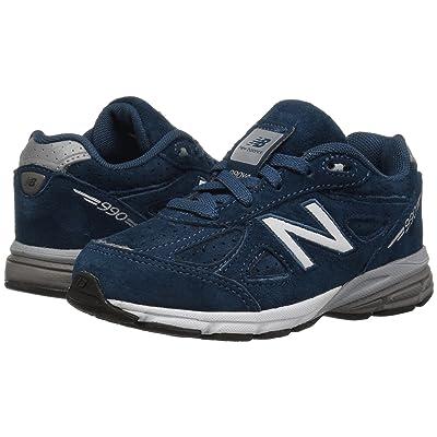 New Balance Kids KJ990v4I (Infant/Toddler) (North Sea/Silver) Boys Shoes