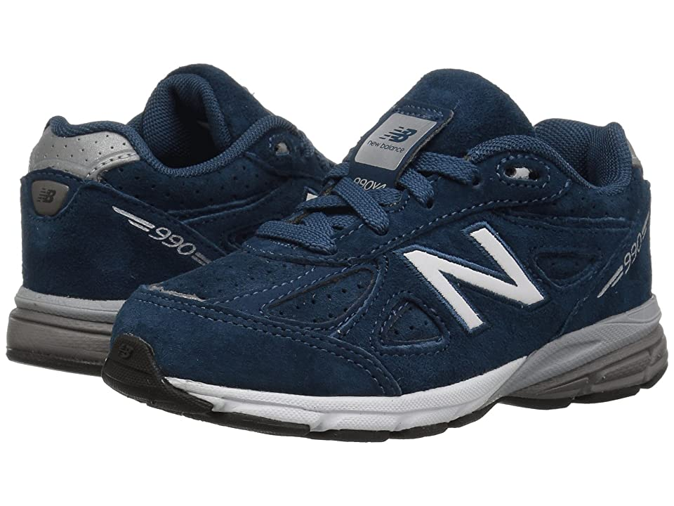 New Balance Kids KJ990v4I (Infant/Toddler) (North Sea/Silver) Boys Shoes