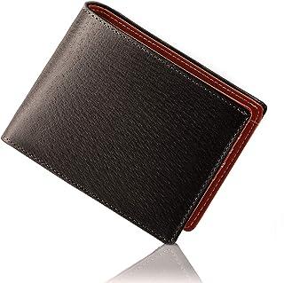 GLEVIO(グレヴィオ) ジャパンレザー 財布 メンズ 二つ折り財布 YKKファスナー 本革 二つ折り ピッグスキン 父の日