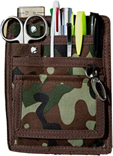 6 Piece Protective Lab Coat Pocket Organizer Kit Sports An Attractive Camo Pattern! Made Of Durable 600d Denier. Perfect Accessory Or Gift For Nurses And Students!