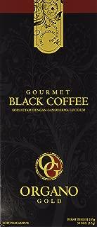 Organo Gold Black Ganoderma Coffee | Gourmet Mushroom Coffee in an Instant with Benefits of Certified Ganoderma Lucidum | 1 Box of 30 Sachets