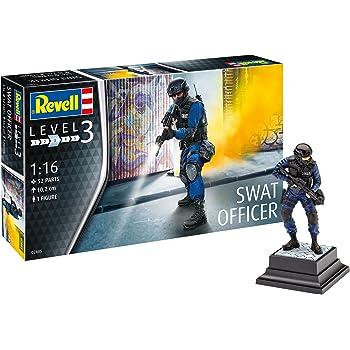 Revell 02805 10 Model Kit 1 16 Scale Swat Officer Level 3 Spielzeug