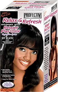 Profectiv Relax & Refresh JET BLACK #43 Relaxer Plus Color