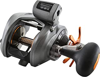 Okuma Cold Water Low Profile 5.4:1 Linecounter Right Hand Fishing Reel - CW-454D