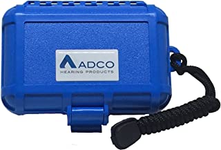 Waterproof Hearing Aid Case (Blue)