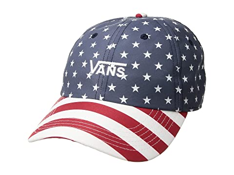 Vans Court Side Printed Hat at Zappos.com 347cca0257a