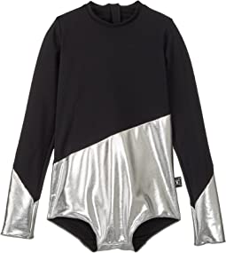 Nununu - 1/2 and 1/2 Long Sleeved Swimsuit (Little Kids/Big Kids)