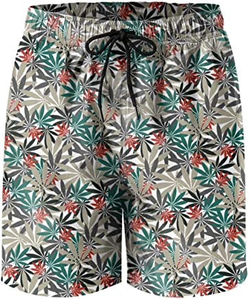 836d6e4f140fd XULANG Man Cannabis Chemistry Plant Painting Board Shorts Surf Bathing Suit  Funny Boardshorts