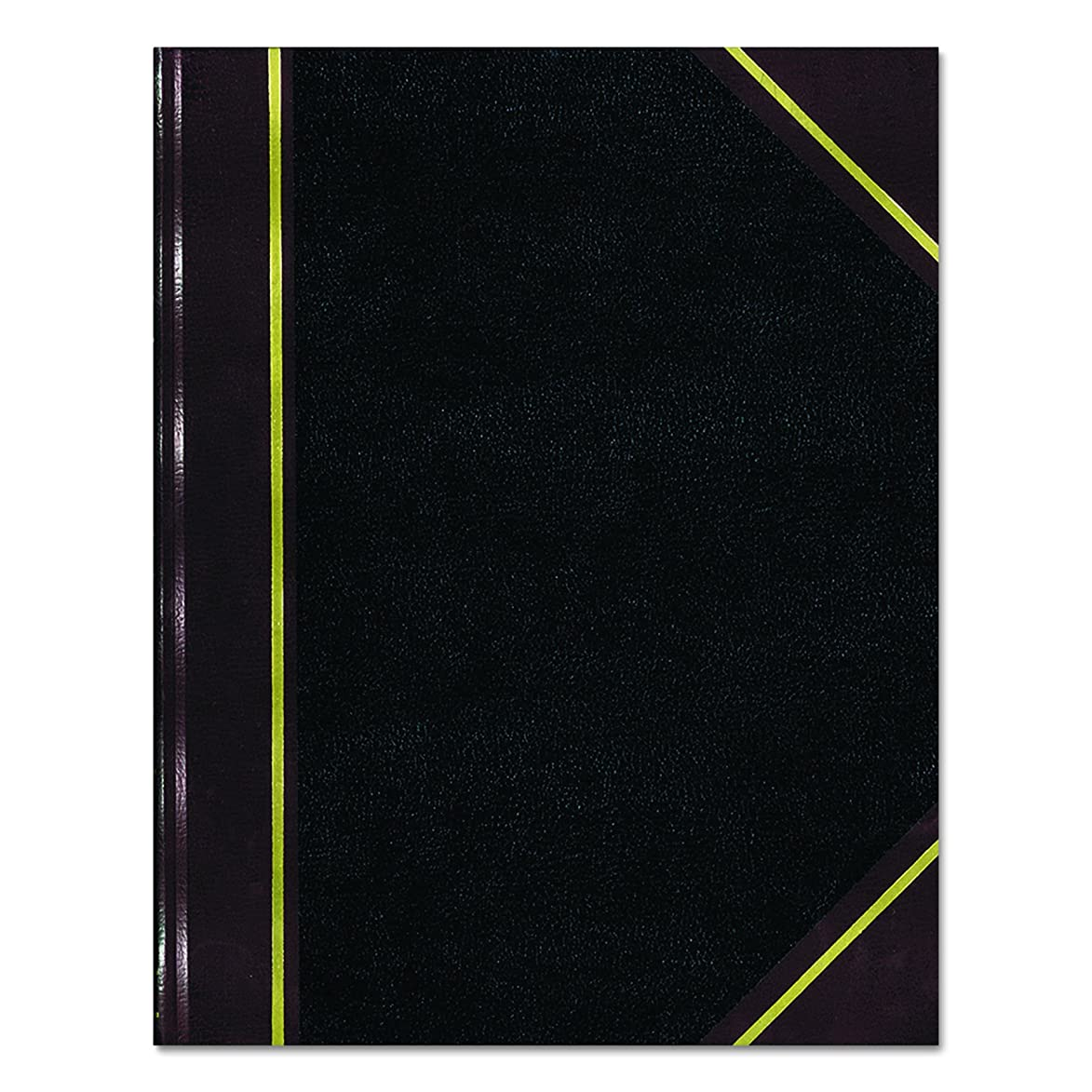 NATIONAL Texhide Series Record Book, Black, 10.375