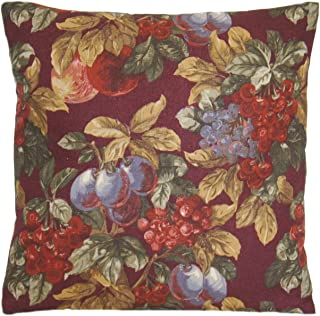RALPH LAUREN Fruit Harvest Decorative Pillow Throw Case Home Material Plums & Grapes Cushion Cover