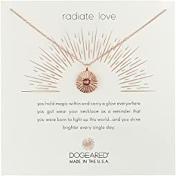 Dogeared - Radiant Love, Crystal Disc Necklace