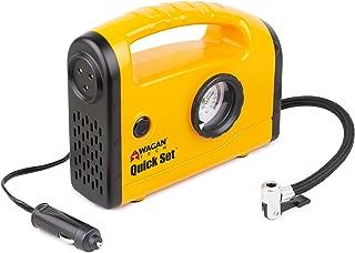 Wagan Yellow EL7301 Quick Set Compact Air Compressor/Inflator