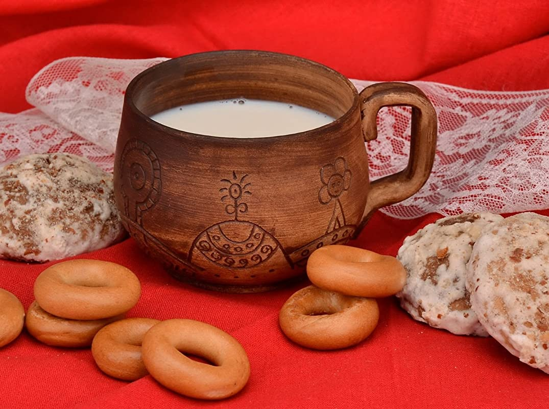 Coffee Cup Ceramic Cup Tea Cup Brown Ceramic Coffee Cup