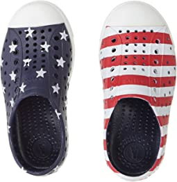 Native Kids Shoes Jefferson Stars and Stripes Print (Toddler/Little Kid)