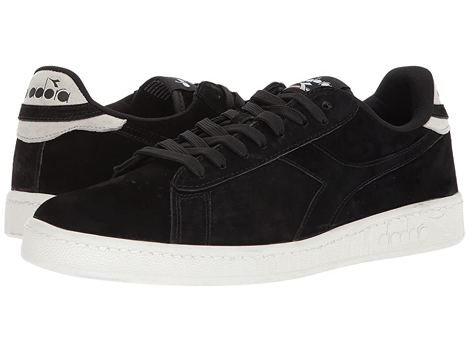Diadora Game Low S (Black) Athletic Shoes