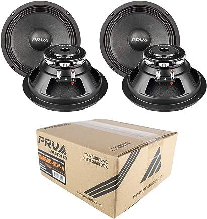 $299 Get 4X 8 Midrange Woofer 4 Ohm 2000 Watts PRV Audio Neo 8MR500-NDY-4 Car Audio